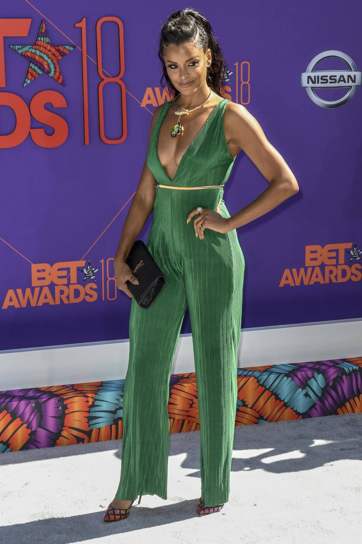 Claudia Jordan at BET Awards in Los Angeles 2018/06/24 1