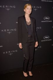 Clemence Poesy at Kering Dinner at 71st Cannes Film Festival 2018/05/13 1