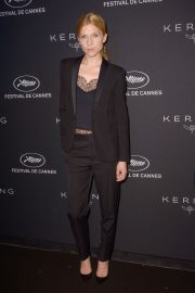 Clemence Poesy at Kering Dinner at 71st Cannes Film Festival 2018/05/13 8