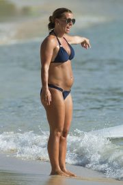 Coleen Rooney in Bikini at a Beach in Barbados 2018/05/27 1