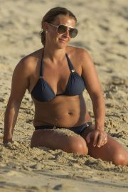 Coleen Rooney in Bikini at a Beach in Barbados 2018/05/27 2