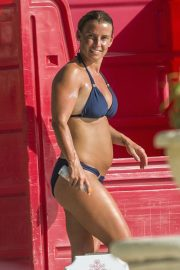 Coleen Rooney in Bikini at a Beach in Barbados 2018/05/27 16