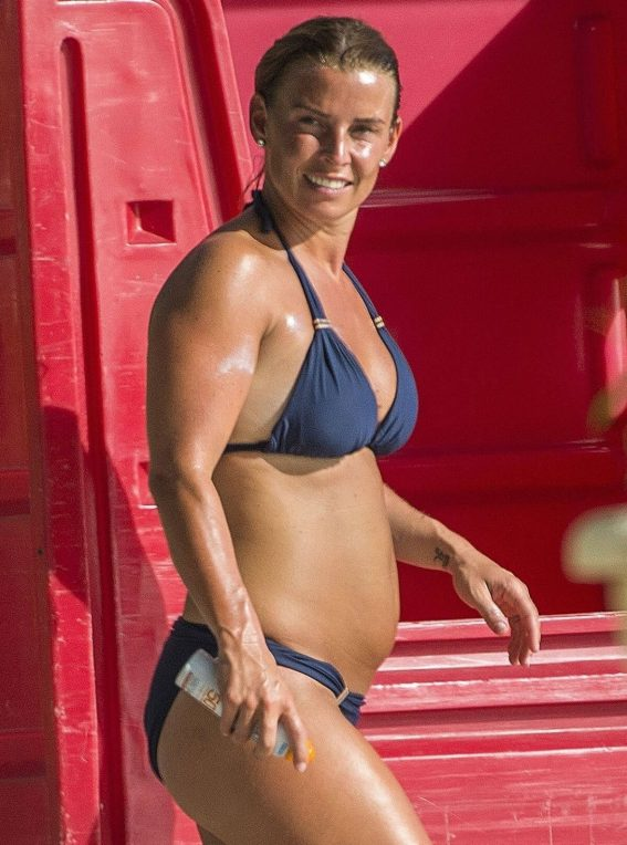 Coleen Rooney in Bikini at a Beach in Barbados 2018/05/27 18