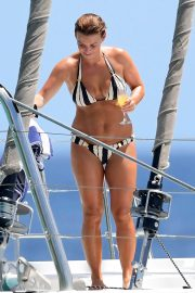 Coleen Rooney in Bikini at a Boat in Barbados 2018/05/28 9