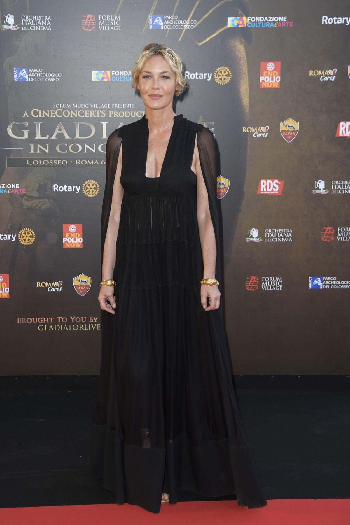 Connie Nielsen Stills at Il Gladiatore in Concerto in Rome 2018/06/06 1