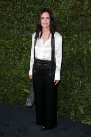 Courteney Cox at Chanel Dinner Celebrating Our Majestic Oceans in Malibu 2018/06/02 10