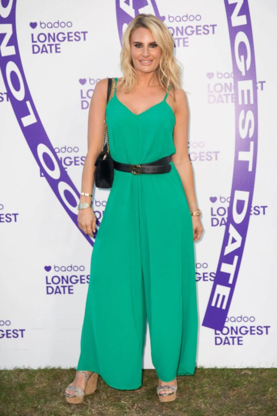 DANIELLE ARMSTRONG at Badoo's Longest Date Celebrating Real Life Dates on Longest Day of the Year in London 2018/06/21 1