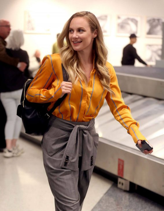 Danielle Savre at Los Angeles International Airport 2018/05/29 10