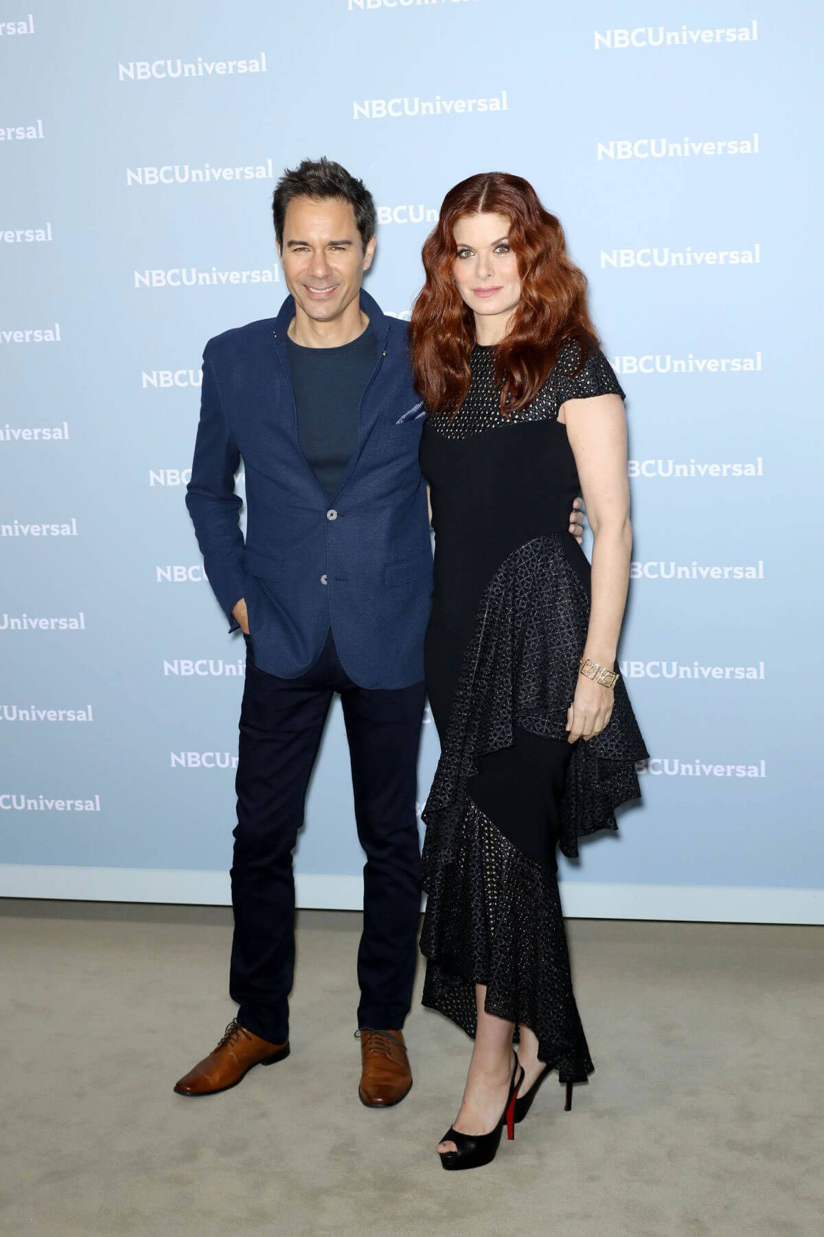 Debra Messing at NBCUniversal Upfront Presentation in New York 2018/05/14 1