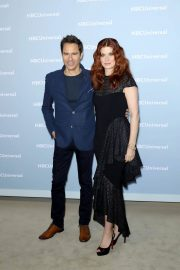 Debra Messing at NBCUniversal Upfront Presentation in New York 2018/05/14 2