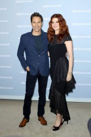 Debra Messing at NBCUniversal Upfront Presentation in New York 2018/05/14 3