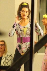 Delta Goodrem at Dance Rehearsals For The Voice in Sydney 2018/05/29 13