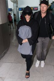 Demi Lovato at Charles De Gaulle Airport in Paris 2018/06/03 2