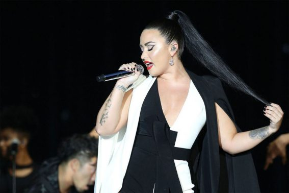 Demi Lovato Performs at Rock in Rio Lisboa Music Festival Bela Vista Park in Lisbon 2018/06/24 1