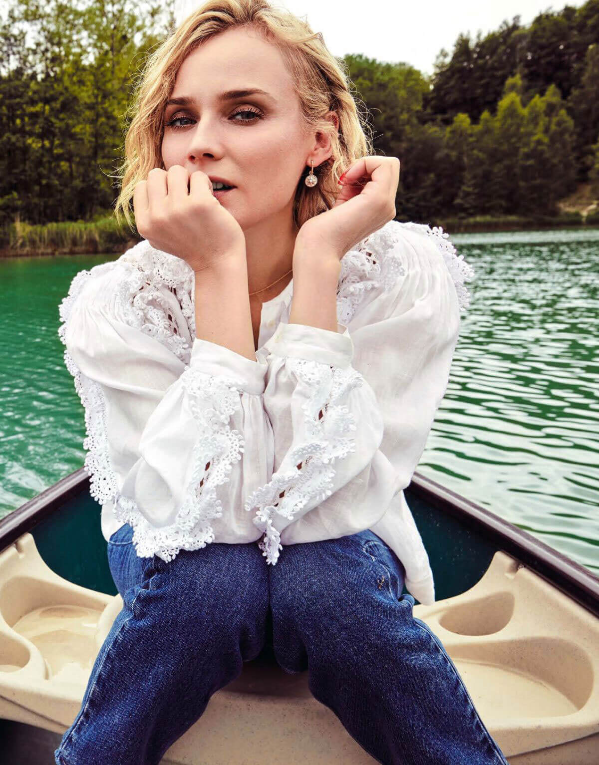 Diane Kruger in Natural Style Magazine, April 2018 Issue 1