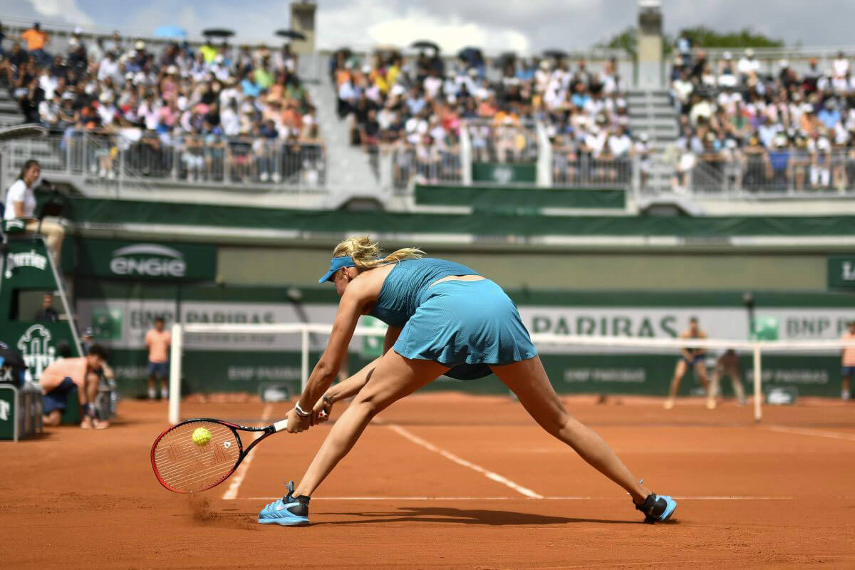 Donna Vekic at French Open Tennis Tournament 2018 in Paris 2018/05/31 1