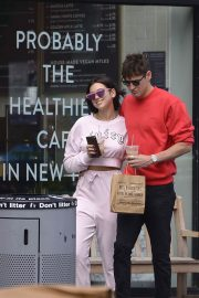 Dua Lipa and Isaac Carew Out in New York 2018/06/21 2