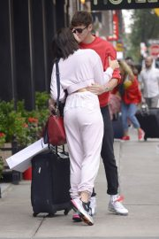 Dua Lipa and Isaac Carew Out in New York 2018/06/21 9