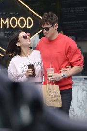 Dua Lipa and Isaac Carew Out in New York 2018/06/21 12