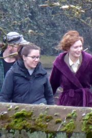 Eleanor Tomlinson on the Set of War of the Worlds in Cheshire 2018/06/09 4