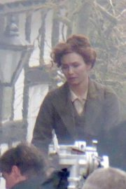 Eleanor Tomlinson on the Set of War of the Worlds in Cheshire 2018/06/09 5