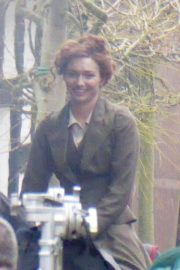 Eleanor Tomlinson on the Set of War of the Worlds in Cheshire 2018/06/09 8