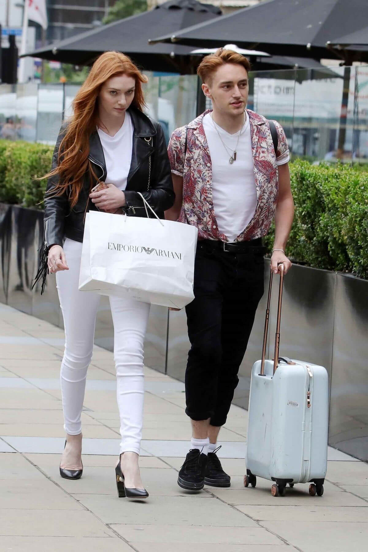 Eleanor Tomlinson Out and About in Leeds 2018/06/08 10
