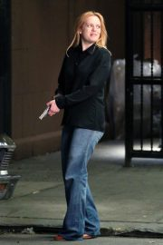 Elisabeth Moss on The Set of The Old Man and The Gun in New York 2018/06/06 3