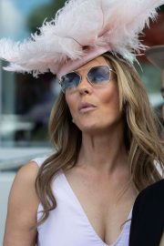 Elizabeth Hurley at Investec Derby Festival Ladies Day at Epsom Racecourse 2018/06/01 13