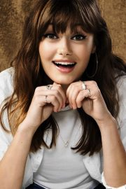 Ella Purnell Poses for Thewrap, May 2018 Issue 5