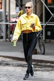 Elsa Hosk Leaves a Gym in New York 2018/06/11 8