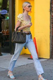 Elsa Hosk Out and About in New York 2018/06/20 1
