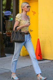 Elsa Hosk Out and About in New York 2018/06/20 2