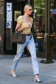 Elsa Hosk Out and About in New York 2018/06/20 10