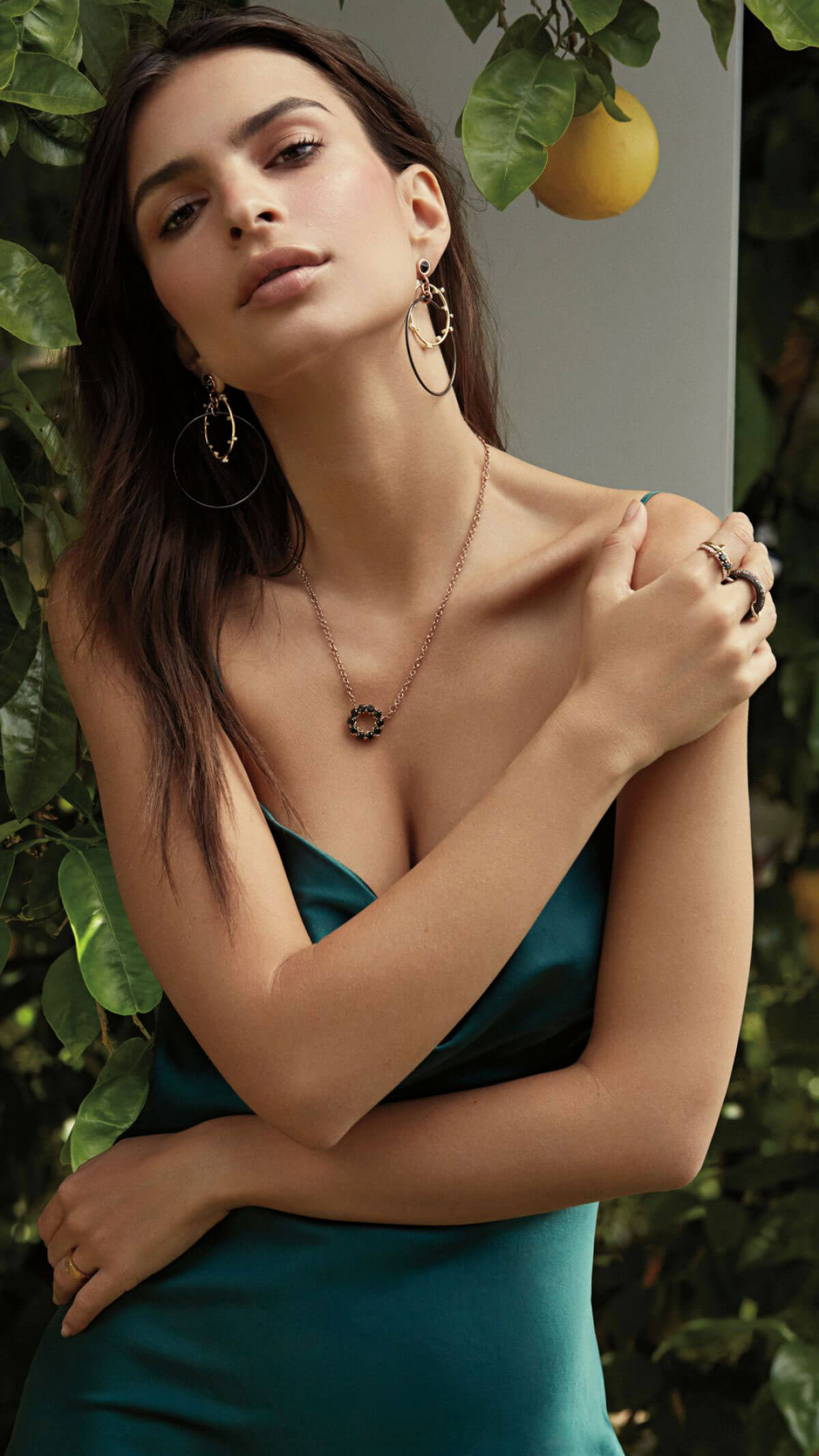 Emily Ratajkowski for Pure Cool Jewelry Collaboration May 2018 Photos 1
