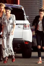 Emma Roberts, Kristen Stewart and Stella Maxwell Night Out in Hollywood 2018/06/09 2