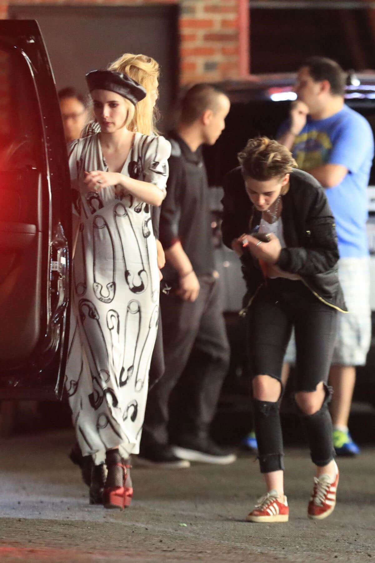 Emma Roberts, Kristen Stewart and Stella Maxwell Night Out in Hollywood 2018/06/09 4