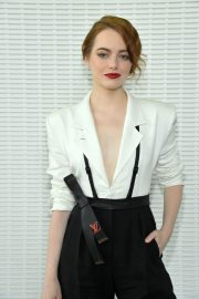 Emma Stone at LVMH Prize 2018 Edition at Fondation Louis Vuitton in Paris 2018/06/06 14