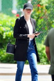 Emma Stone Out and About in New York 2018/06/11 10