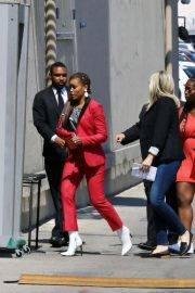 Eve Arrives at Jimmy Kimmel Live in Los Angeles 2018/06/07 1