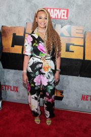 Faith Evans at Luke Cage Series Premiere in New York 2018/06/21 5