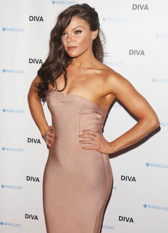 Faye Brookes at Diva Magazine Awards in London 2018/06/08 11