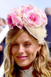 Frankie Gaff at Investec Derby Festival Ladies Day at Epsom Racecourse 2018/06/01 1