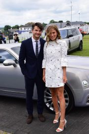 Frankie Gaff at Investec Derby Festival Ladies Day at Epsom Racecourse 2018/06/01 2