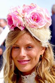 Frankie Gaff at Investec Derby Festival Ladies Day at Epsom Racecourse 2018/06/01 3