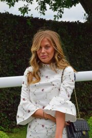 Frankie Gaff at Investec Derby Festival Ladies Day at Epsom Racecourse 2018/06/01 4