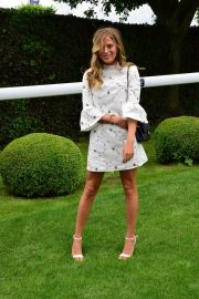 Frankie Gaff at Investec Derby Festival Ladies Day at Epsom Racecourse 2018/06/01 5