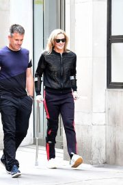 GABBY LOGAN Out and About in London 2018/06/01 4