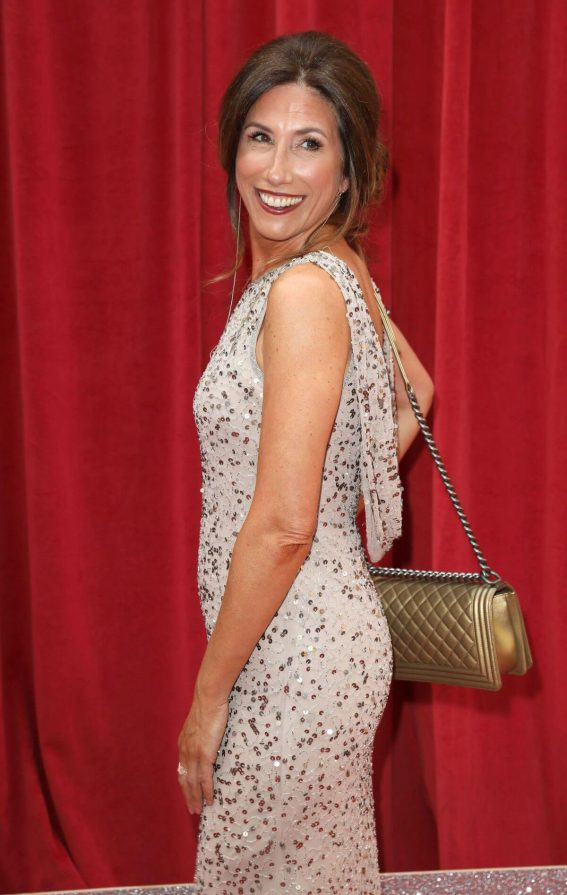 Gaynor Faye at British Soap Awards 2018 in London 2018/06/02 4