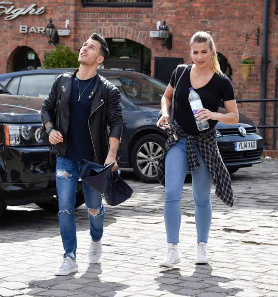 Gemma Atkinson and Gorka Marquez Out in Manchester 2018/06/05 1
